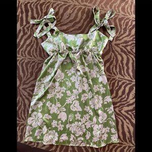 Nally & Mille Size large silky sexy dress